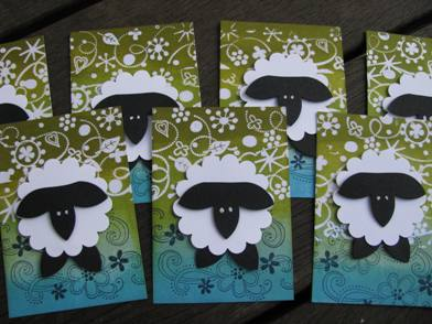 Punched sheep c
