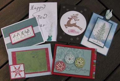 Christmas cards a