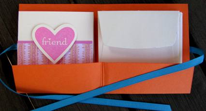 Love note card holder b