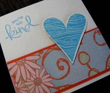 Love note card holder e