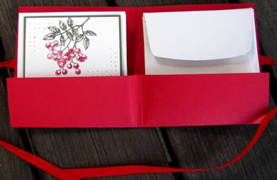 Christmas Love Note holder a