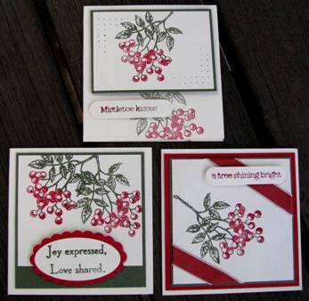 Christmas Love Note holder b