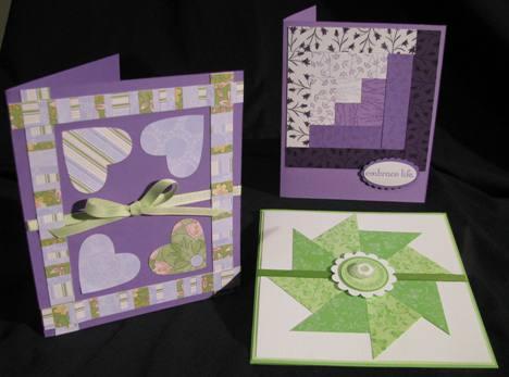 Quilt Block cards a