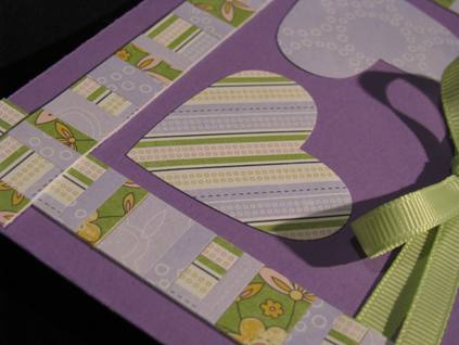 Sweet Hearts Quilt Block card a