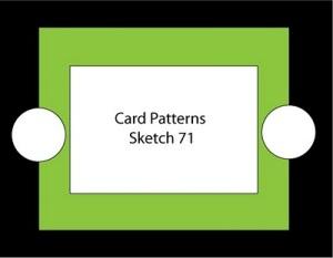 Card Patterns Sketch 71