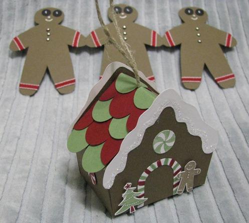 Gingerbread Men & House