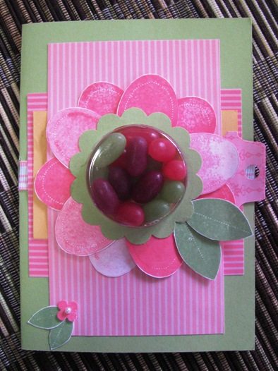 Sweet Treats Flower Card
