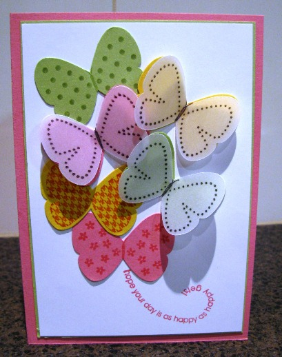 Flight of the butterfly card 2