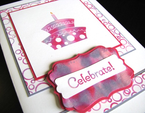 Topsy Turvy Celebration Card BL1