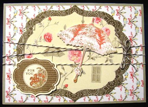 Rue de Fleurs Card