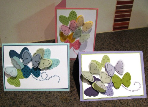 Flight of the butterfly cards