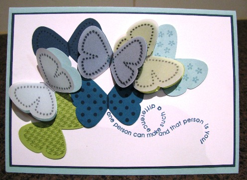 Flight of the butterfly card 3