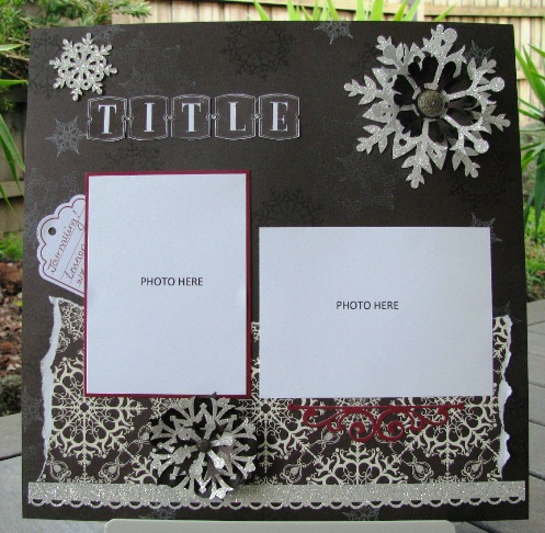 Snowflake Soiree Layout