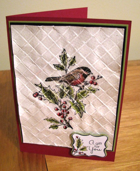 Weathered Glaze Card i