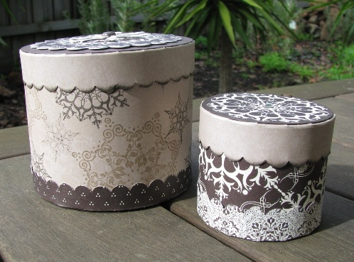 Heartfelt Stampin Day Cylinder Boxes