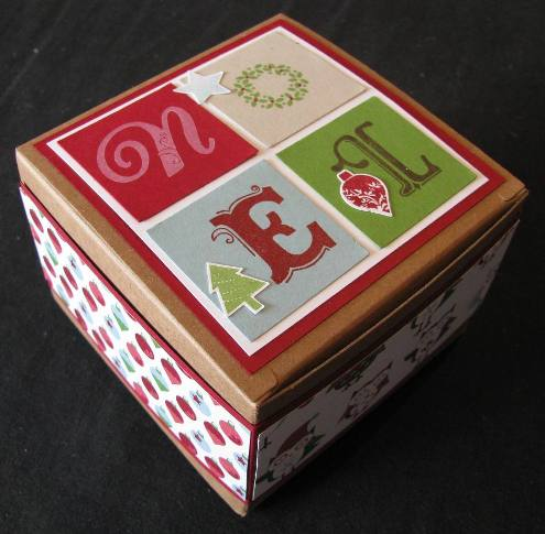 Broadsheet Alphabet Christmas Box