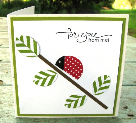 Summer Smooches Bug Me card