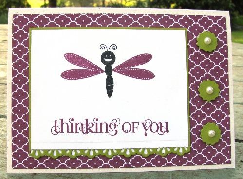 Summer Smooches Bug Me cards 2
