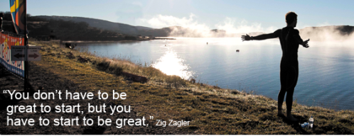 Quote - being great