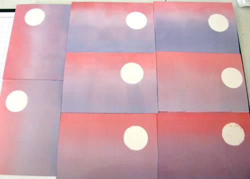 Brayered Silhouette Card