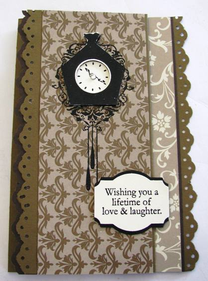 Mocha Morning Tri-fold card