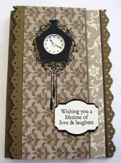 Mocha Morning Tri-fold card
