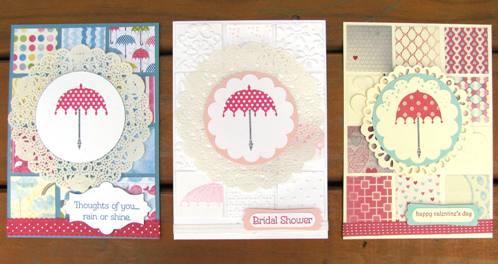 Rain or Shine Stamp Set (5)