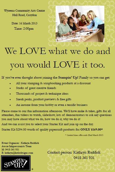 Share What you Love Opportunity Event Flyer KR