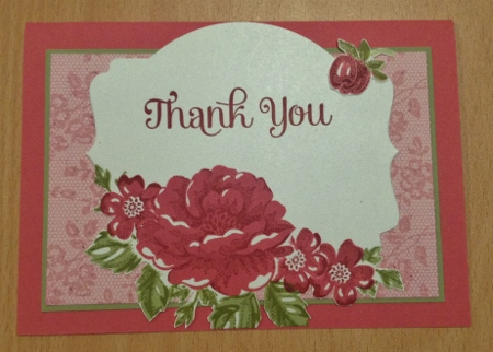 I Love Lace Stampin Up card (5)