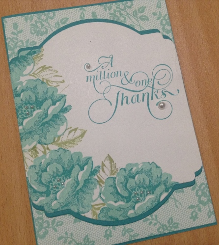 I Love Lace Stampin Up card (2)