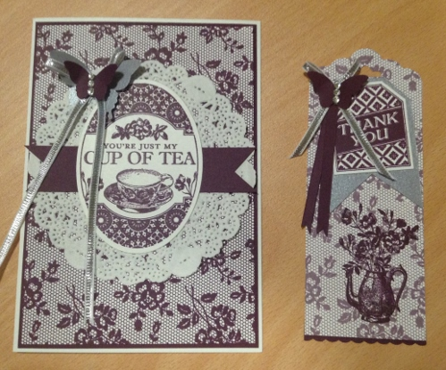 I Love Lace Stampin Up card (1)