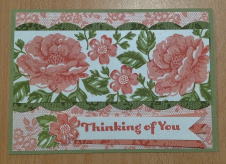 I Love Lace Stampin Up card (4)