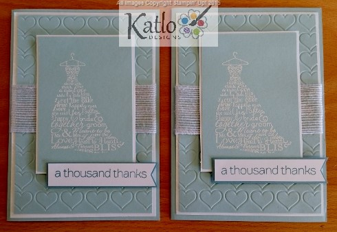 Bridesmaid Thanks Stampin Up (1)