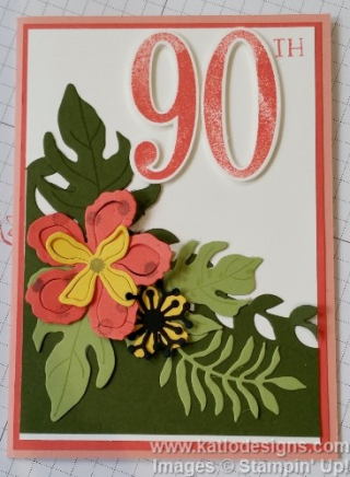 Botanical Blooms Bundle Birthday Cards (9)