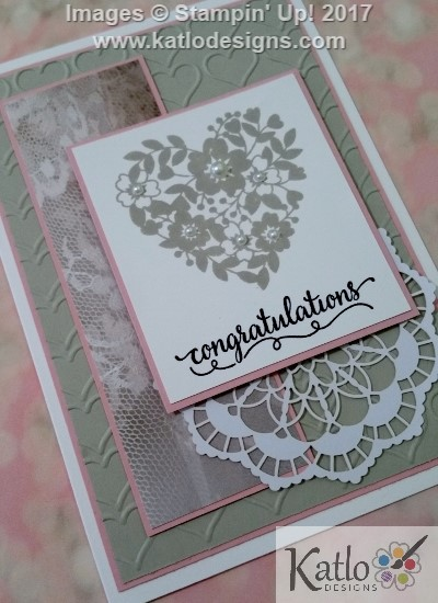 Stampin' Up! Wedding Cards (4)