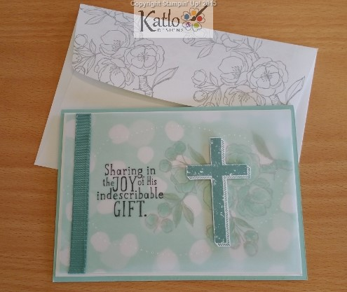 Indescribable Gift & Blessed of God Stamp Set cards (17)
