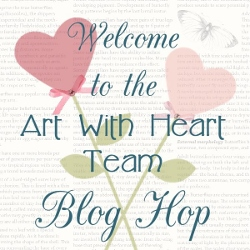 Art with Heart Blog Hop Badge (250x250)