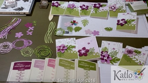 Botanical Blooms Cottage Garden Note Cards (2)