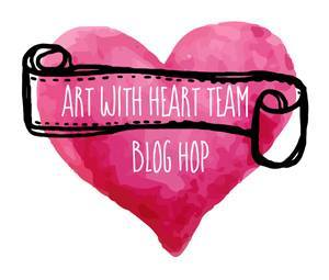 Art With Heart Blog Hop Header