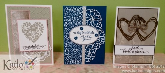 Stampin' Up! Wedding Cards (1)