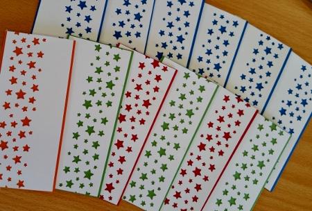 Confetti Stars Border Punch