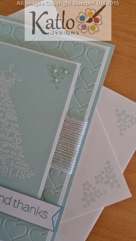 Bridesmaid Thanks Stampin Up (4)