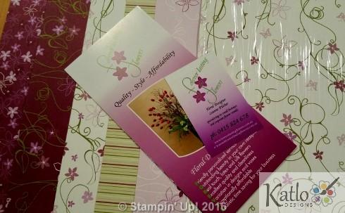 Botanical Blooms Cottage Garden Note Cards (1)