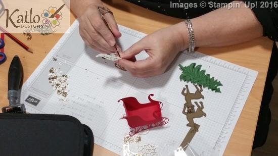 Santa's Sleigh Centrepiece (1)
