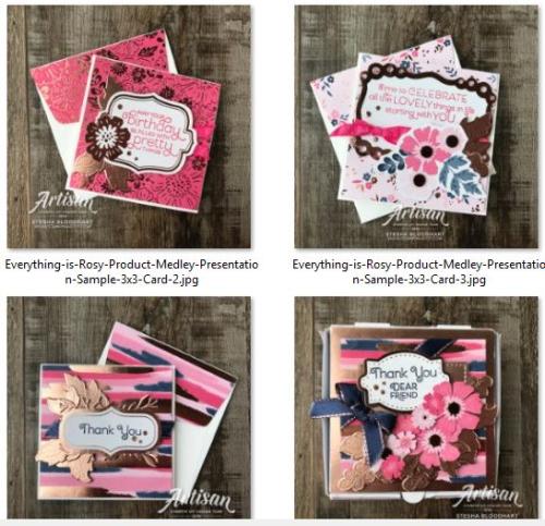 Stesha Bloodhart cards