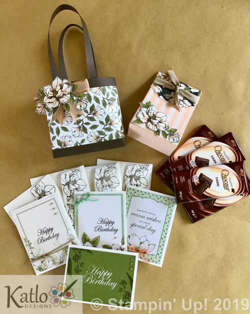 Magnolia Lane Stampin Up Gift Bags (6)