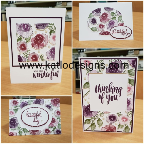 Floating Frames Technique Stampin Up