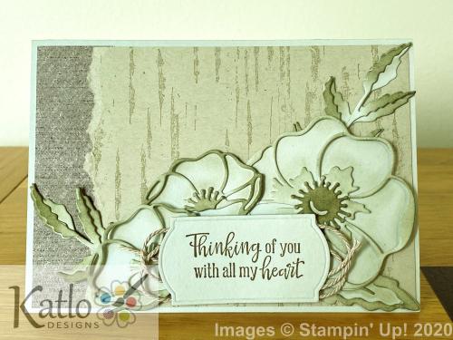 Peaceful Poppies Bundle (3)
