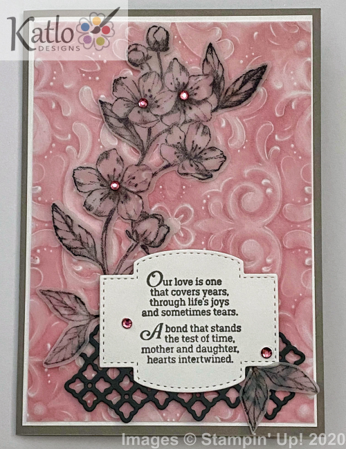 Parisian Blossoms Stampin Up (1)