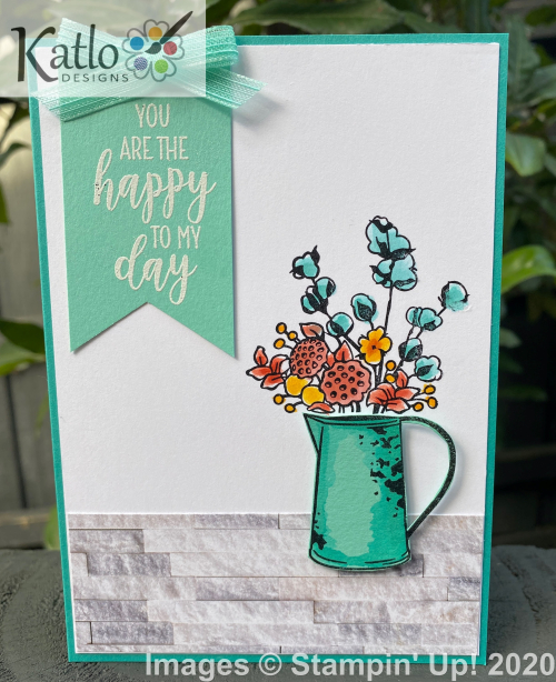 Stampin' Up Bermuda Bay Country Home (1)